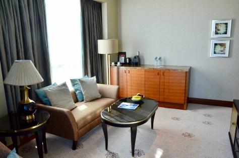 separate living area - Club Junior Suite, Dusit Thani Abu Dhabi