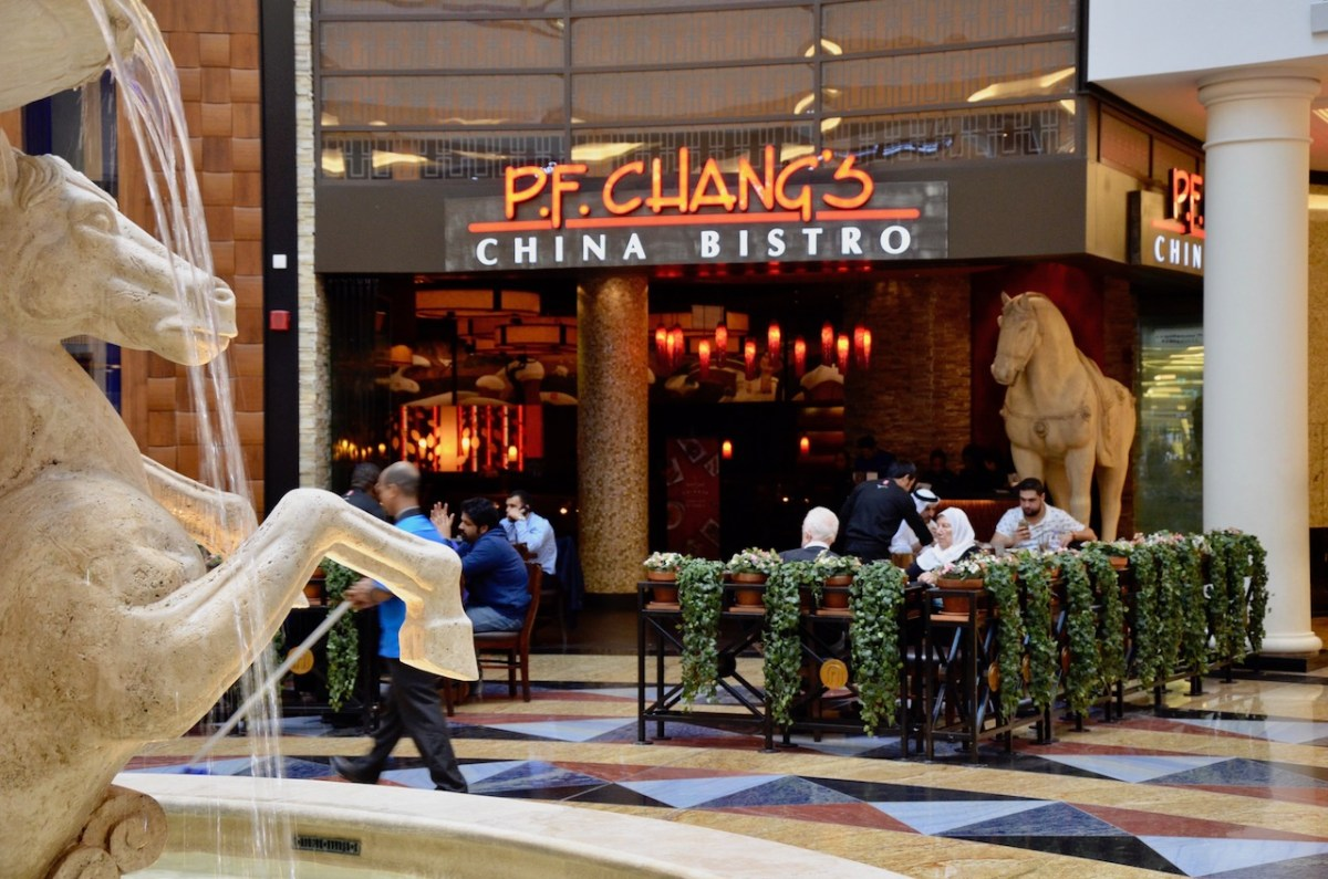 Pf changs mall of emirates