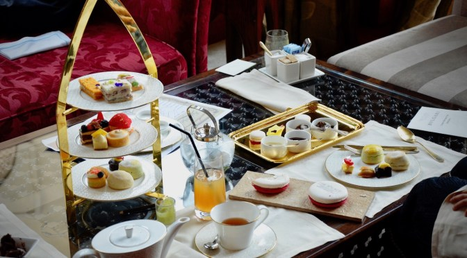 BVLGARI Afternoon Tea at Lakeside Garden – AED 200 – The Palace Downtown Dubai