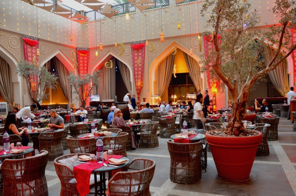 Iftar at Manzil Downtown Dubai, The Courtyard - AED 195