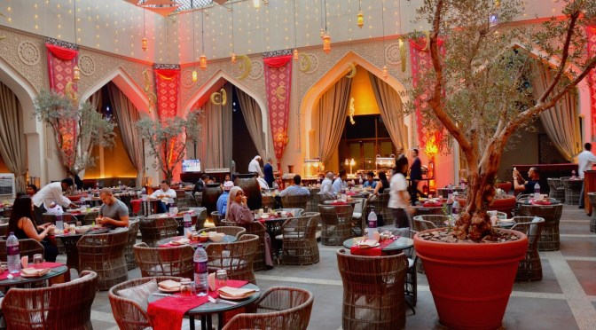 Iftar at Manzil Downtown Dubai, The Courtyard – AED 195