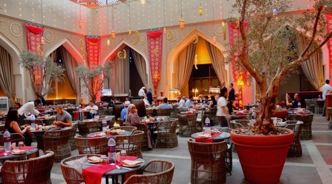 Iftar at Manzil Downtown Dubai, The Courtyard – AED 195