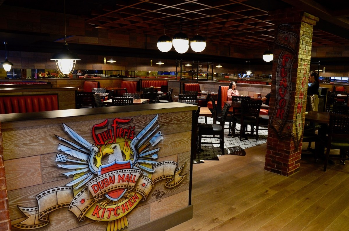 Guy Fieri's Kitchen - Reel Cinemas - Dubai Mall