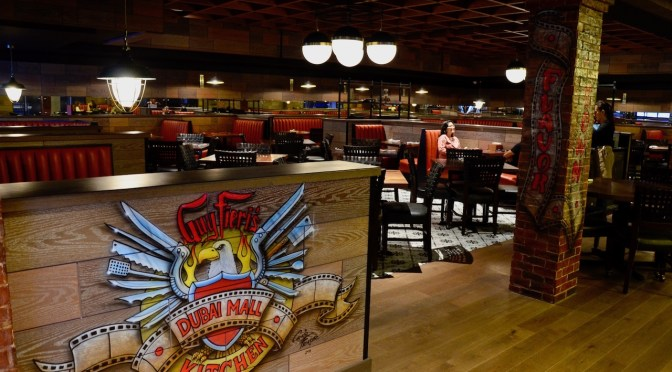 Guy Fieri's Kitchen – Reel Cinemas – Dubai Mall