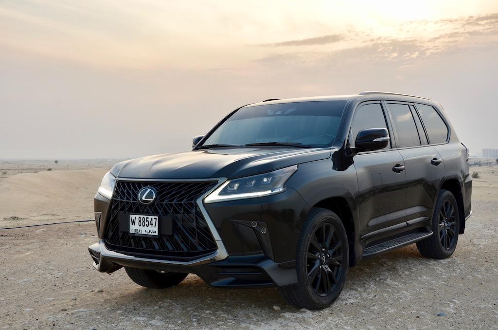Lexus LX 570 Black edition 2019 – Dubaicravings.com