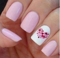 Really Pink Nail Art Design by Cute Polish | Dubai Day Spa