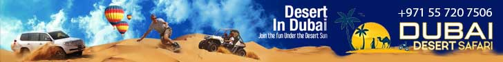 Dubai Desert Safari in Summer desert safari