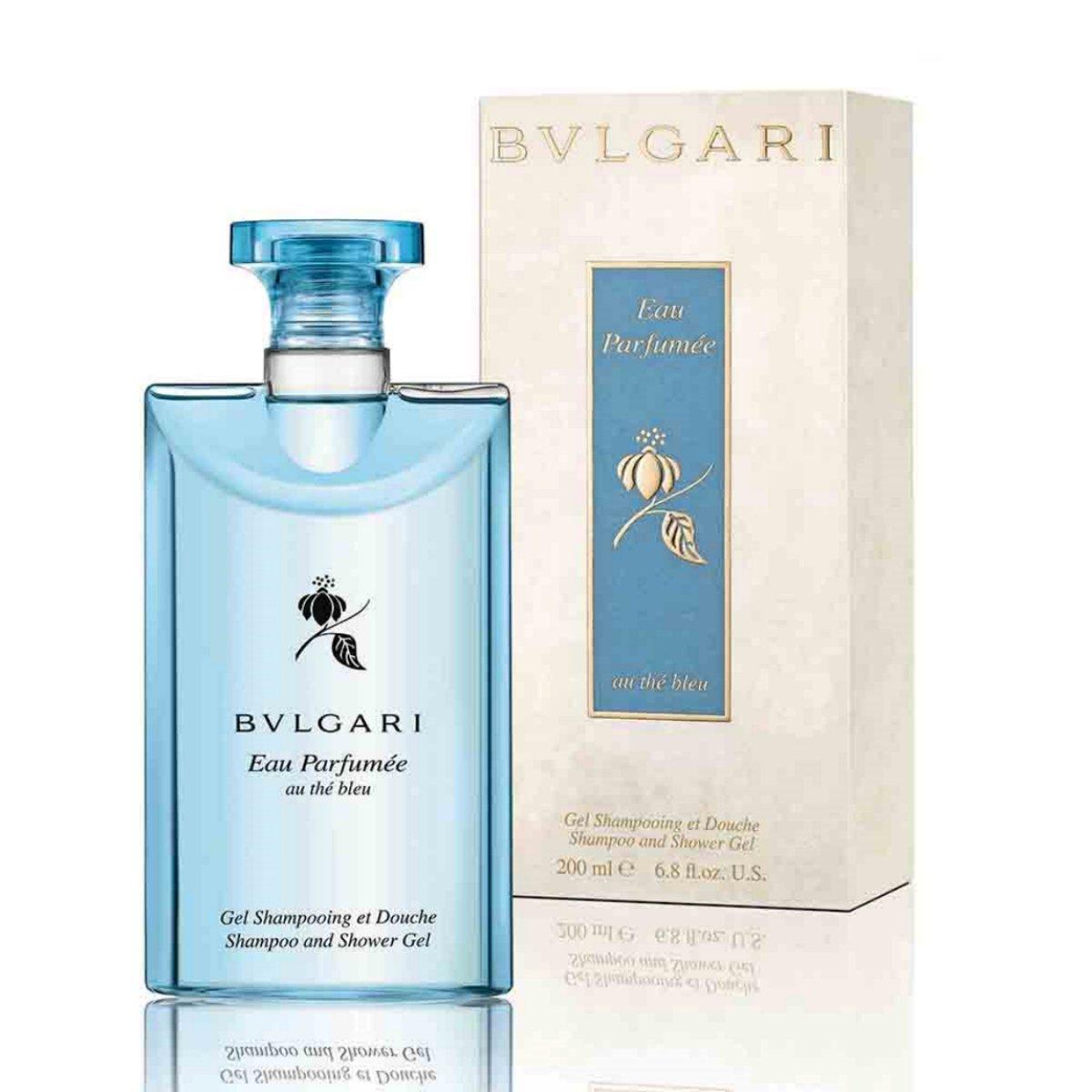 Bvlgari Eau Parfumée Thé Bleu Shampoo & Shower Gel 200ml