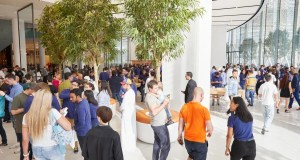 new Apple store at the Dubai Mall Dubai fashion news