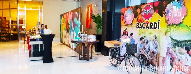 Street Art Brunch at the Oberoi