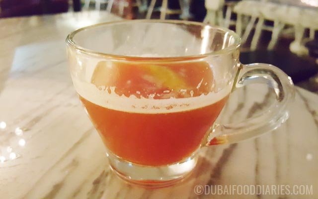 The Queen's Tea at Weslodge Saloon at JW Marriott Marquis Dubai