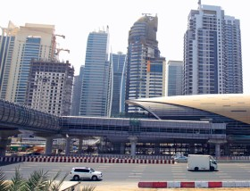 Marina Metro station is expected to serve residents of Jumeirah Lake Towers, Jumeirah Bay Towers and Green Lakes.