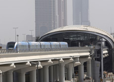 METRO TRAINS: 95 percent of trains have run on time in Dubai since the September 9 launch. (ITP Images)
