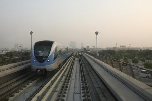 The Dubai Metro has picked up the award for Transport Project of the Year for Public Transport