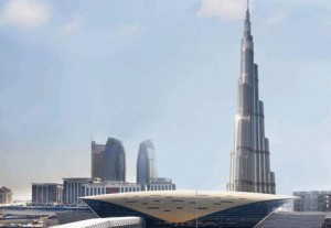 According to Mattar Al Tayer, the Burj Dubai Metro station is expected to carry 10,000 passengers on weekdays. Image Credit: Supplied picture