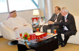 Al Tayer meeting with the Dutch Consul.