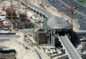 *  The RTA is currently building the Dubai Metro's Green Line, expected to be operational within few months.     * Image Credit: Francois Nel, Gulf News