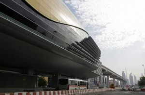 The Al Karama Station will open in a few months' time. Jeffrey E Biteng / The National
