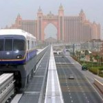 The driverless transit system cost $380 million to build. Randi Sokoloff / The National