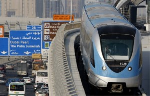 Dubai Metro lifts 30m passengers in its first year. (AP)