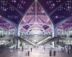 Modern Haramain High speed Railway at Saudi Arabia