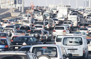 *  Image Credit: Gulf News archive     * Cars on a busy Dubai road. The Licensing Agency at Roads and Transport Authority (RTA) is all set to launch a new batch of 4 and 5-digit number plates in the upcoming 10th Online Number Plates Auction bearing the M code.