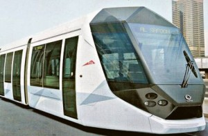 *  Image Credit: Virendra Saklani/Gulf News archive     * The Alstom Citadis 402 type tram. Earlier this month, the RTA awarded a 13-year maintenance contract for the Al Sufouh tramway to a consortium comprising Alstom and Cofely Besix Facility Management.
