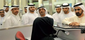 Shaikh Mohammed has urged officials to make all possible efforts to achieve 100 per cent passenger satisfaction. — Wam Photos