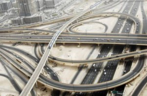 Image Credit: AHMED RAMZAN/GULF NEWS ARCHIVE     Photo credit Photo Caption lead in Defence Round about-Interchange 1 on Shaikh Zayed road in Dubai. PHOTO:AHMED RAMZAN/GULF NEWS ARCHIVE