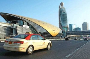 Image Credit: GN Archives Drive at ease: Taxi drivers in Dubai are alerted not to speed through a monitoring system