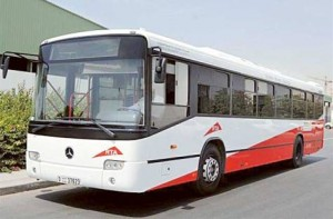 Image Credit: Courtesy: RTA The first Dubai inter-city RTA bus. The city is well connected with the other emirates.