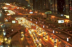 Image Credit: Zarina Fernandes/Gulf News Archives     Peak hour traffic on Shaikh Zayed Road. 32,660 fines were issued for not keeping a safe distance between vehicles.