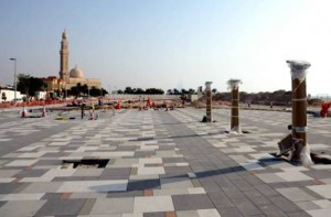 Image Credit: RTA 55% of Jumeirah Corniche Project completed, initial phase to open in Ramadan.