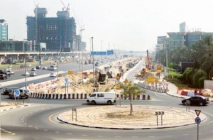 Image Credit: Virendra Saklani/Gulf News     Diversion work in progress for Dubai Canal project. The nearly Dh2 billion Dubai Canal project is extending Dubai Creek from Business Bay to the Arabian Sea in Jumeirah.