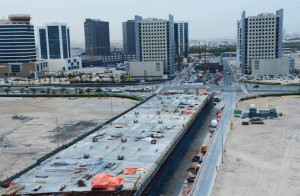 The 108-km Parallel Roads Project starts from Shaikh Rashid Road. - Supplied photo