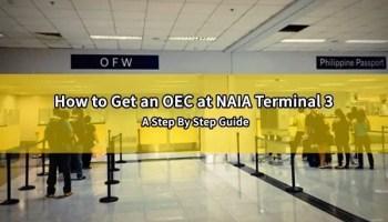 How to Apply for an OEC in Dubai   Dubai OFW
