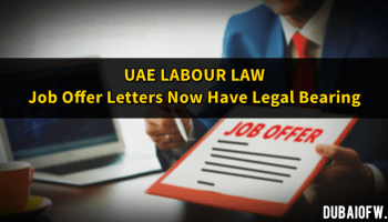 Lifting the UAE Labour Ban | Dubai OFW