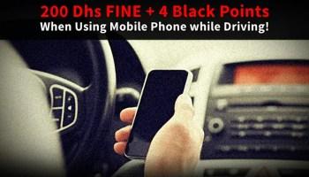 List of Traffic Driving Violations and Fines by RTA Dubai   Dubai OFW
