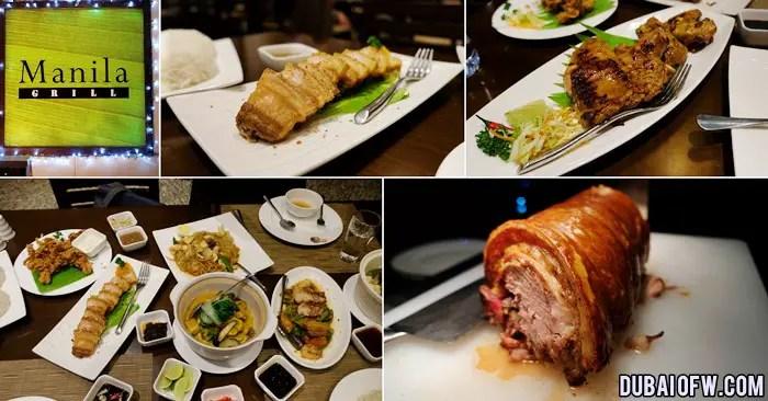 Manila Grill Restaurant Filipino Food in Asiana Hotel