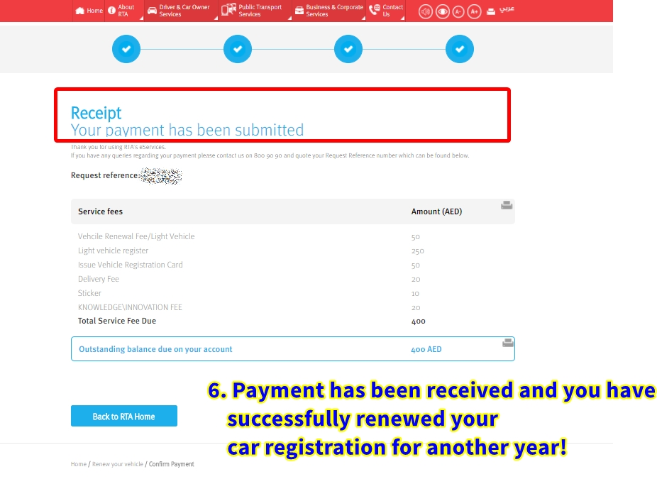 How Renew Car Registration Online Abu Dhabi