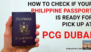 How to Renew Your Philippine Passport in Dubai, UAE 2019