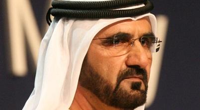 Mohammed sejk köszöni…