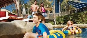 Wild Wadi vízi vidámpark élmény a javából kisgyerekeknek is
