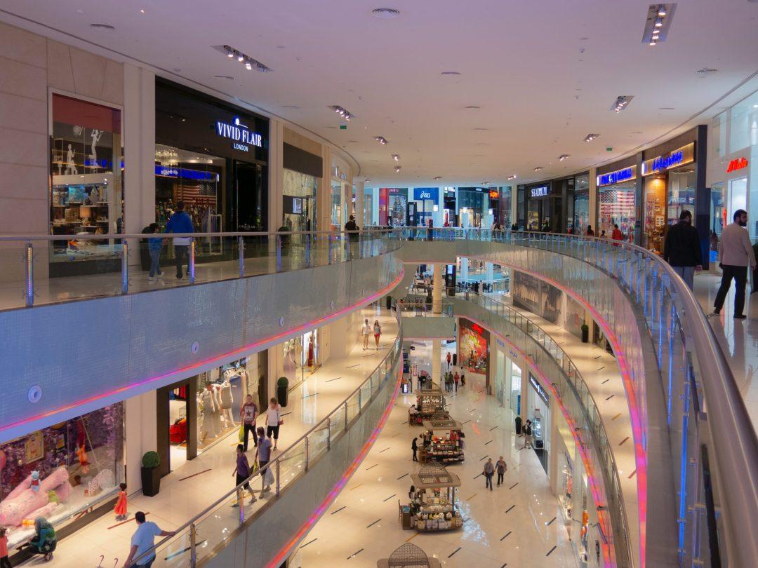 Dubai Mall, a világ legnagyobb bevásárlóközpontja