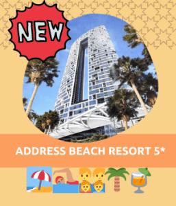 ADDRESS BEACH RESORT 5