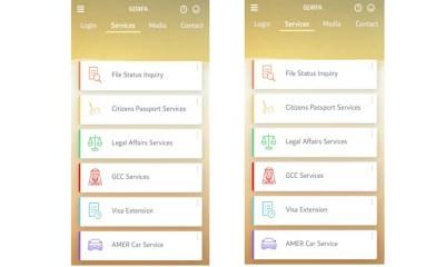 Per rinnovare il visto basta un'App