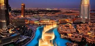 Dubai Fountains - - Romantic Places in Dubai