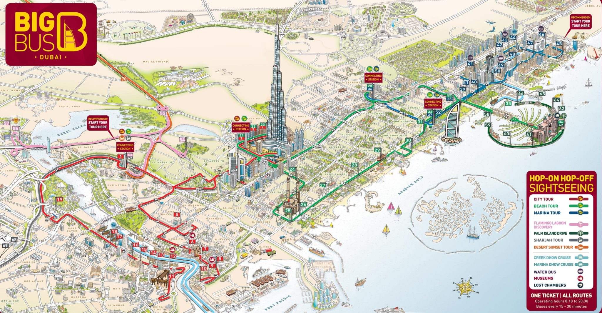 An Updated Official List of Dubai Bus Routes with PDF Bus Route Maps on
