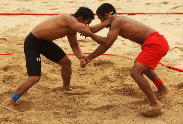 Asian Beach Wrestling Competition