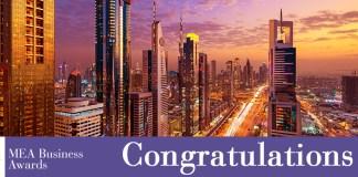 Mea Business Awards Congratulations Fror Dubai Tour Pro